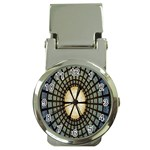 Stained Glass Colorful Glass Money Clip Watches Front