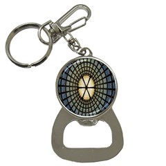 Stained Glass Colorful Glass Bottle Opener Key Chains