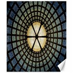 Stained Glass Colorful Glass Canvas 8  x 10  10.02 x8 Canvas - 1