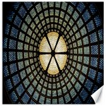 Stained Glass Colorful Glass Canvas 12  x 12   12 x12 Canvas - 1