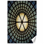 Stained Glass Colorful Glass Canvas 12  x 18   18 x12 Canvas - 1