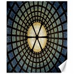 Stained Glass Colorful Glass Canvas 20  x 24   24 x20 Canvas - 1