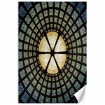 Stained Glass Colorful Glass Canvas 24  x 36  36 x24 Canvas - 1
