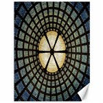 Stained Glass Colorful Glass Canvas 36  x 48   48 x36 Canvas - 1