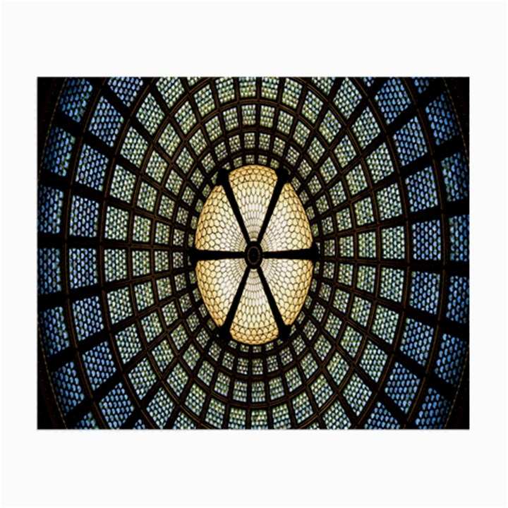 Stained Glass Colorful Glass Small Glasses Cloth (2-Side)