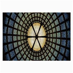 Stained Glass Colorful Glass Large Glasses Cloth (2-Side)