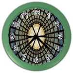 Stained Glass Colorful Glass Color Wall Clocks Front
