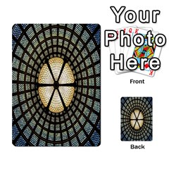 Stained Glass Colorful Glass Multi-purpose Cards (Rectangle)