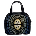 Stained Glass Colorful Glass Classic Handbags (2 Sides) Front