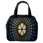 Stained Glass Colorful Glass Classic Handbags (2 Sides) Back