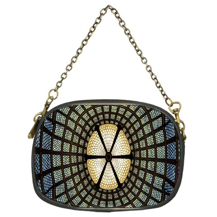 Stained Glass Colorful Glass Chain Purses (One Side)