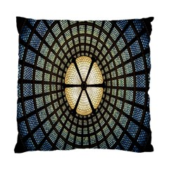 Stained Glass Colorful Glass Standard Cushion Case (One Side)