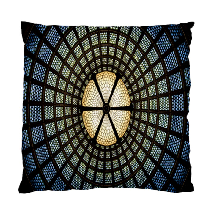 Stained Glass Colorful Glass Standard Cushion Case (Two Sides)