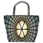 Stained Glass Colorful Glass Bucket Bags Front