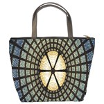 Stained Glass Colorful Glass Bucket Bags Back