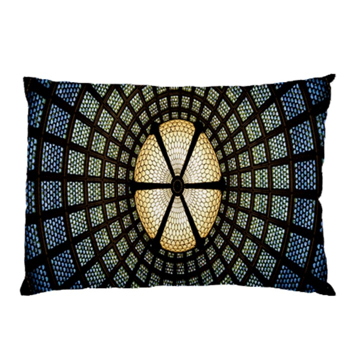 Stained Glass Colorful Glass Pillow Case