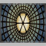 Stained Glass Colorful Glass Canvas 24  x 20  24  x 20  x 0.875  Stretched Canvas
