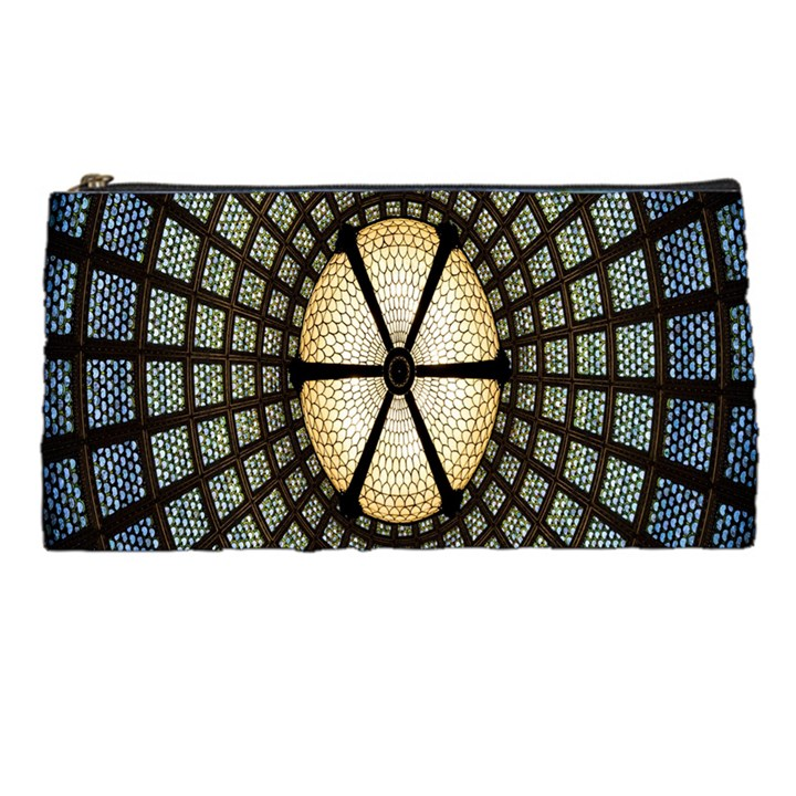 Stained Glass Colorful Glass Pencil Cases