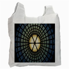 Stained Glass Colorful Glass Recycle Bag (Two Side)