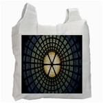 Stained Glass Colorful Glass Recycle Bag (Two Side)  Front