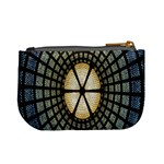 Stained Glass Colorful Glass Mini Coin Purses Back
