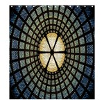 Stained Glass Colorful Glass Shower Curtain 66  x 72  (Large)  58.75 x64.8 Curtain
