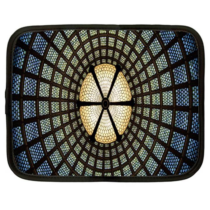 Stained Glass Colorful Glass Netbook Case (XXL)