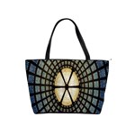 Stained Glass Colorful Glass Shoulder Handbags Front