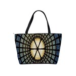 Stained Glass Colorful Glass Shoulder Handbags Back