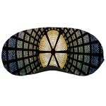Stained Glass Colorful Glass Sleeping Masks Front