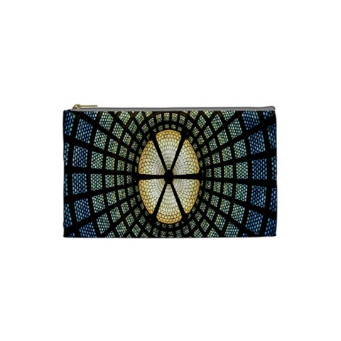 Stained Glass Colorful Glass Cosmetic Bag (Small)