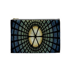 Stained Glass Colorful Glass Cosmetic Bag (Medium)