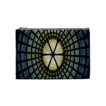 Stained Glass Colorful Glass Cosmetic Bag (Medium)  Front