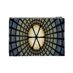 Stained Glass Colorful Glass Cosmetic Bag (Large)  Back