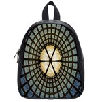 Stained Glass Colorful Glass School Bags (Small)  Front
