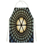 Stained Glass Colorful Glass Full Print Aprons Front