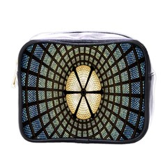 Stained Glass Colorful Glass Mini Toiletries Bags