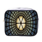 Stained Glass Colorful Glass Mini Toiletries Bags Front