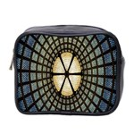 Stained Glass Colorful Glass Mini Toiletries Bag 2-Side Front