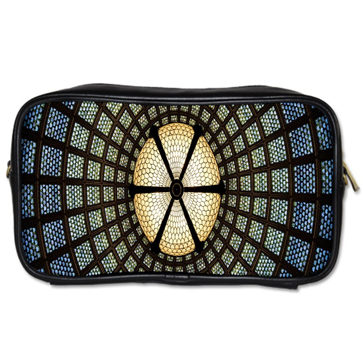 Stained Glass Colorful Glass Toiletries Bags 2-Side