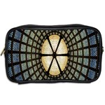 Stained Glass Colorful Glass Toiletries Bags 2-Side Back