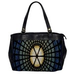 Stained Glass Colorful Glass Office Handbags Front