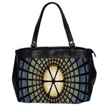 Stained Glass Colorful Glass Office Handbags (2 Sides)  Front