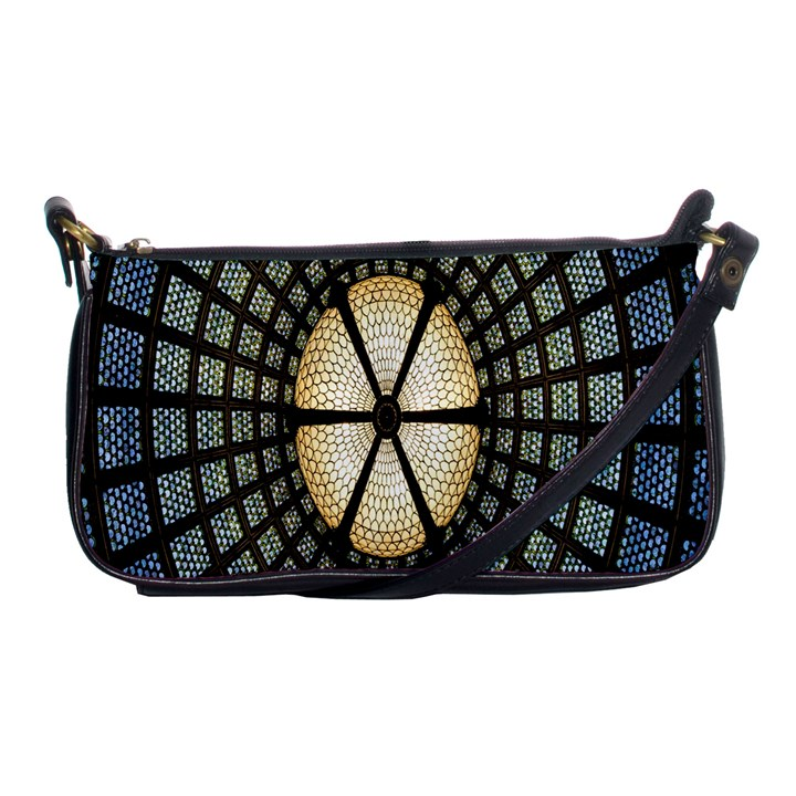 Stained Glass Colorful Glass Shoulder Clutch Bags