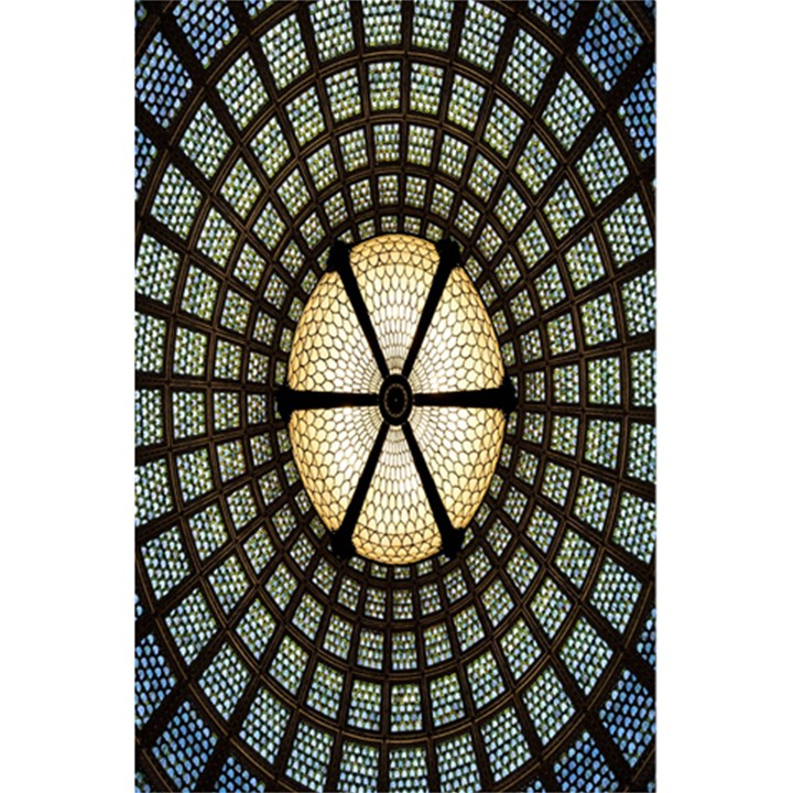 Stained Glass Colorful Glass 5.5  x 8.5  Notebooks