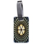 Stained Glass Colorful Glass Luggage Tags (Two Sides) Back