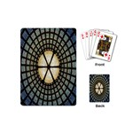 Stained Glass Colorful Glass Playing Cards (Mini)  Back