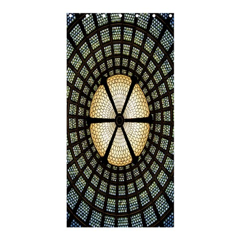 Stained Glass Colorful Glass Shower Curtain 36  x 72  (Stall)