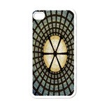 Stained Glass Colorful Glass Apple iPhone 4 Case (White) Front