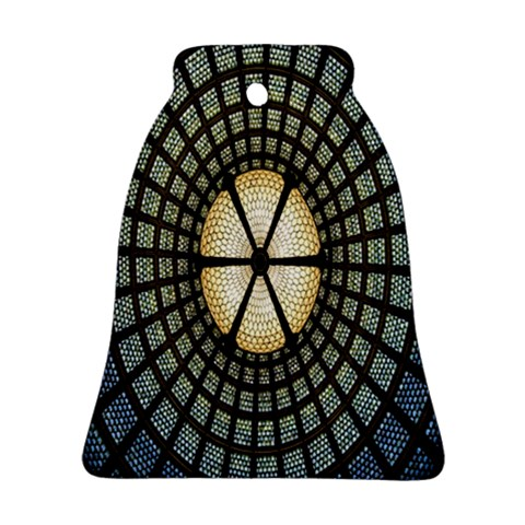 Stained Glass Colorful Glass Ornament (Bell)